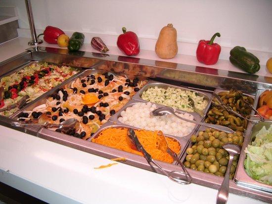 Hotel Alameda: comida almediodia