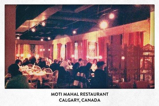 Moti Mahal: Downtown at night