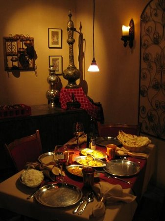 Moti Mahal: Dinner