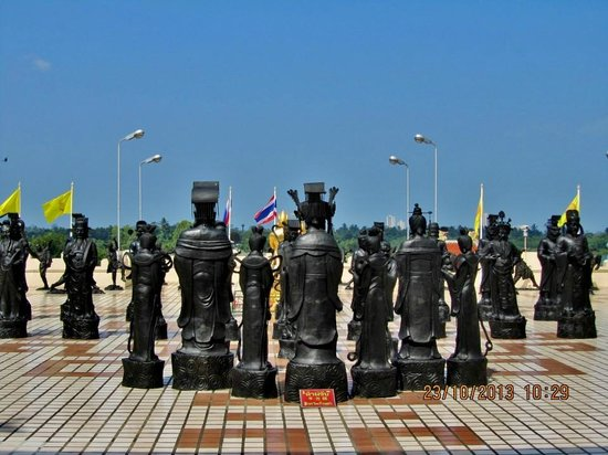 Chineze zeevaarders - Picture of Anek Kuson Sala (Viharnra Sien), Pattaya - T...