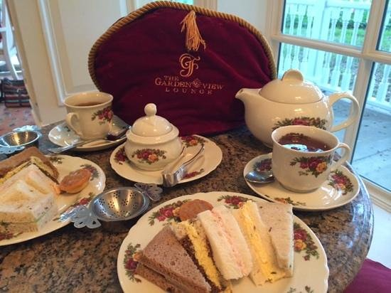 Afternoon Tea Service Picture Of Garden View Tea Room Orlando Tripadvisor