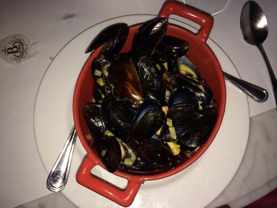 Brasserie 292: Mussels at Brasserie