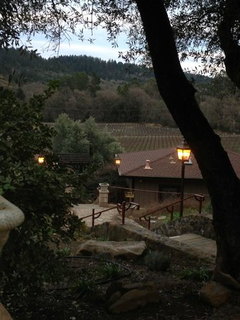 The Wine Country Inn: View from just outside our roon