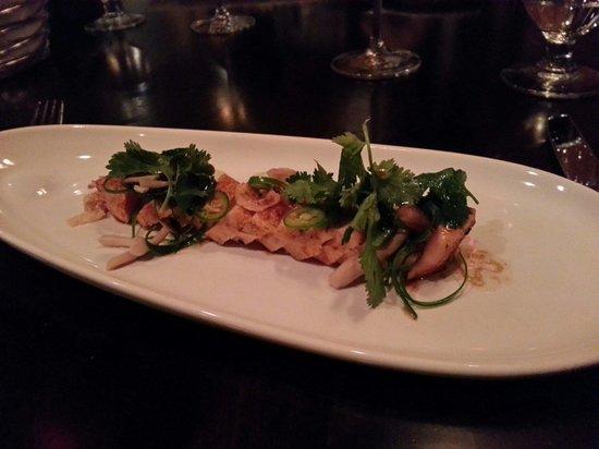 Aura Restaurant: Tuna garniert