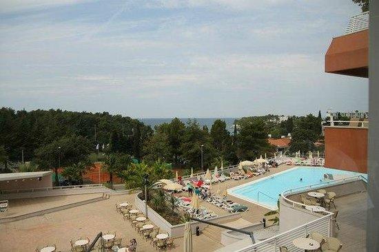All Inclusive Hotel Laguna Albatros: Пейзаж сверху отеля