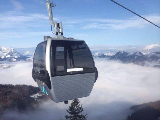 Hotel Walchseer Hof : Nearby skiing at Hochkössen 1800m