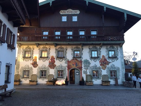 Hotel Walchseer Hof : Nice and cosy place to eat.