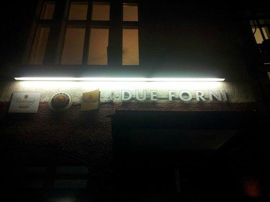 I Due Forni: entrance