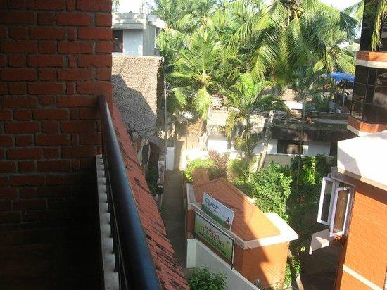 Thushara Hotel: From the balcony