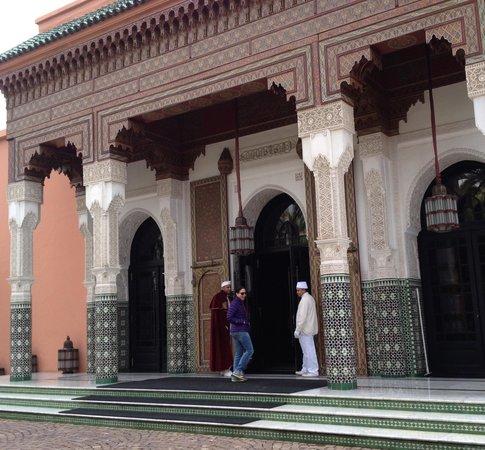 La Mamounia Marrakech : Walking in