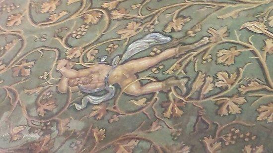 Saint-Romain-en-Gal : Mosaique du 1er etage