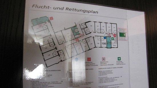 NH Kloesterle Noerdlingen: План этажа