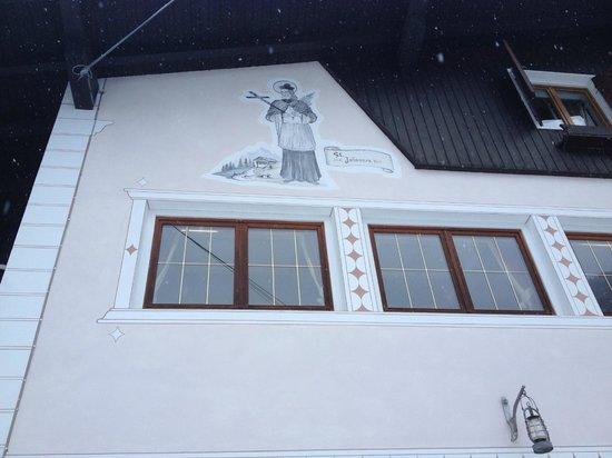 Garni Hotel Wildbach: la facciata del Wildbach