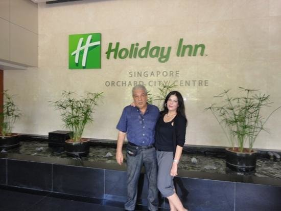 Holiday Inn Singapore Orchard City Centre: ideal hotel