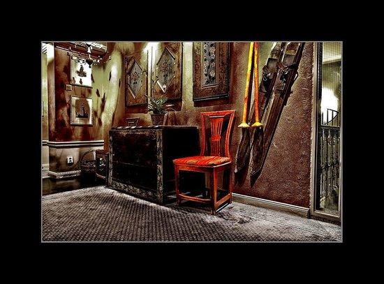 Lady Hamilton Hotel : Utanför hotellrummet
