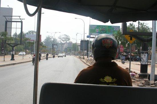 Angkor Pearl Hotel: tuk tuk driver, Mr. Kun