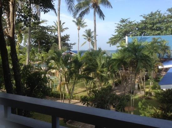 Andaman Lanta Resort : территория отеля из окна нашего номера
