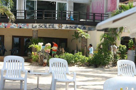 Le Soleil de Boracay: Вид на отель