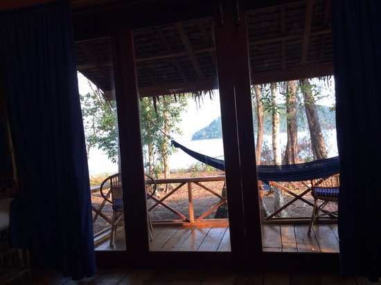 EcoSea Dive Day Trips: The view from my bungalow.