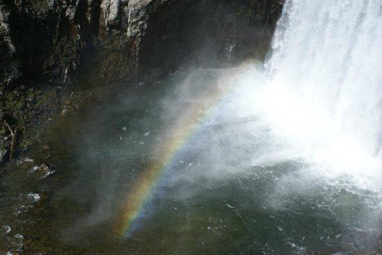 Devils Postpile National Monument: Rainbow Falls 1