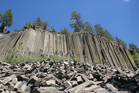 Devils Postpile National Monument: Basalt-Cliff 1