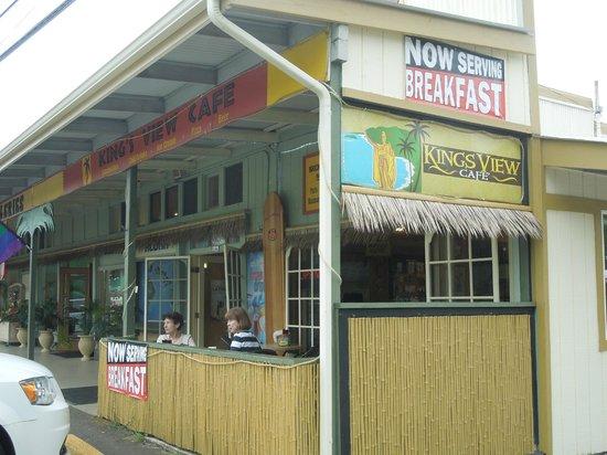 Kings View Cafe Kapa'au Hawaii