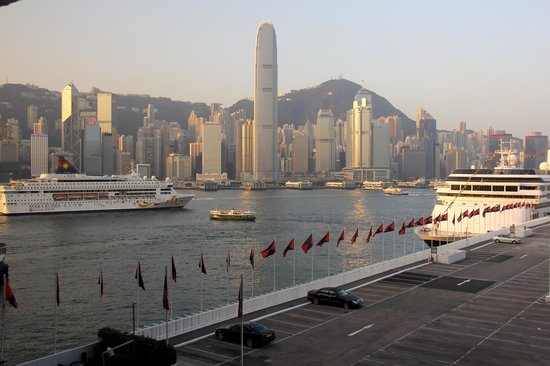 View from the Marco Polo Hongkong Hotel