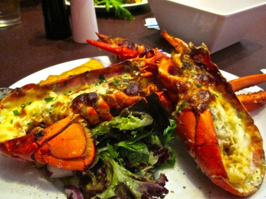 Kitchen at Treasury: The Lobster deal