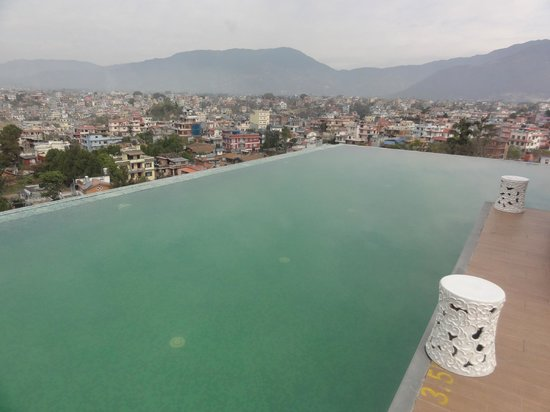 Infinity Pool With A View Picture Of Hotel Shambala Kathmandu Tripadvisor