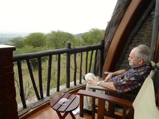 Ngorongoro Serena Safari Lodge: terrazzino