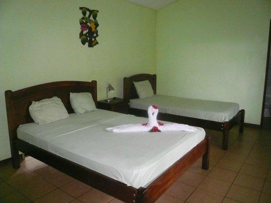 Laguna del Lagarto Lodge: Zimmer