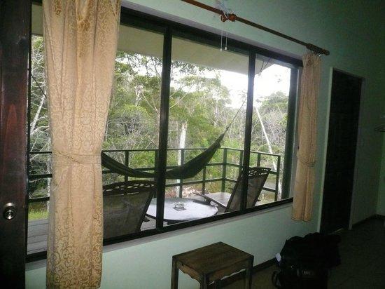 Laguna del Lagarto Lodge : Aussicht aus dem Zimmer