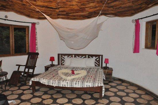 Moyoni Lodge : l'intérieur de la chambre