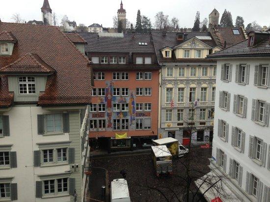 Hotel des Balances: номер с видом на старый город