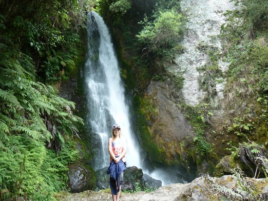 Buried Village of Te Wairoa: At the bottom of the waterfall walk