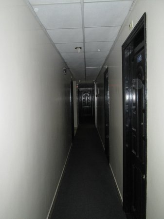 Ha Van Hotel : Hallways were a bit dark