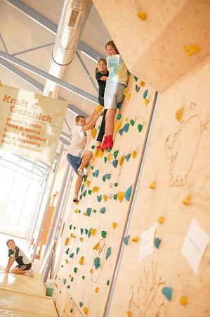 JUFA Hotel Gnas - Sport-Resort : Climbing wall