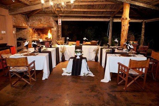 Kariega Game Reserve - Ukhozi Lodge : Intimate weddings can be hosted at Ukhozi Lodge