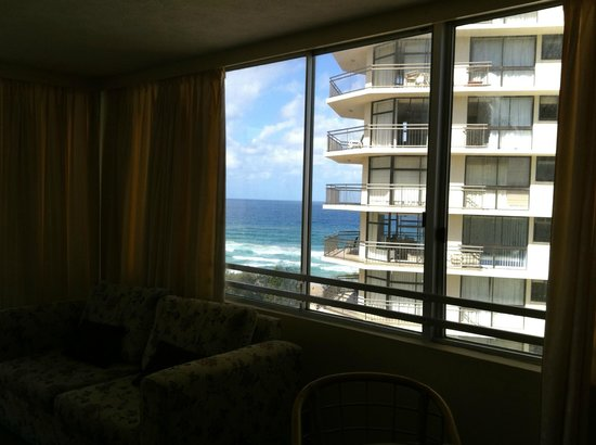 The Quarterdeck Surfers Paradise : From apartment 91 lounge room