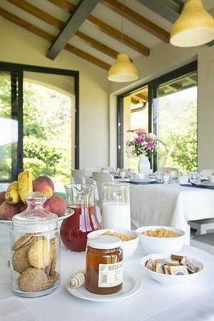 Porcigliano Bed and Breakfast: local and organic produce for breakfast