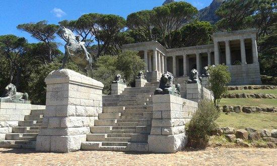Rhodes Memorial: Memorial