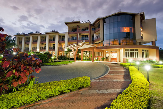 Mbale Resort Hotel: Front view