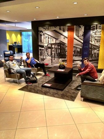 Garden Court Milpark : The band chilling out