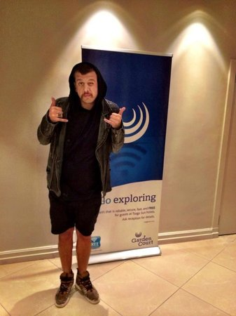Garden Court Milpark: Jack Parow has arrived