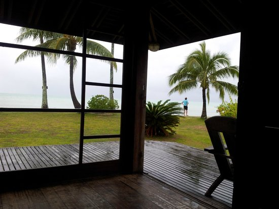 bungalow hotel Matira Bora Bora