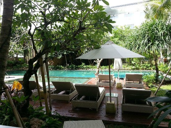 Fontana Hotel Bali: Pool