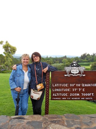 Fairmont Mount Kenya Safari Club: verso il monte Kenya