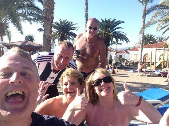 eo Suite Hotel Jardin Dorado: Us!
