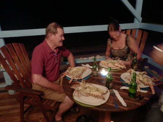 Shepherd's Inn : Lobster on the beach front