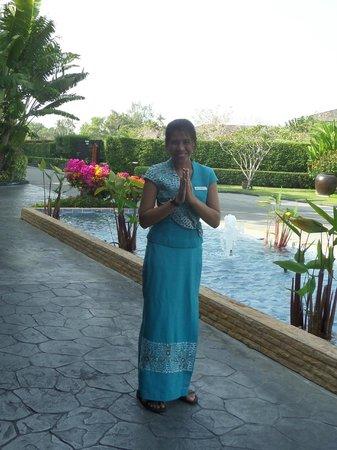 Marriott's Mai Khao Beach - Phuket: Wonderful reception staff.